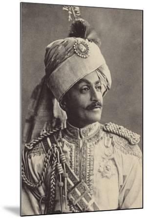 Sir Pertab Singa--Mounted Photographic Print