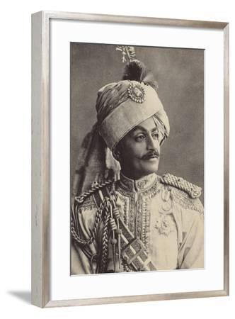 Sir Pertab Singa--Framed Photographic Print