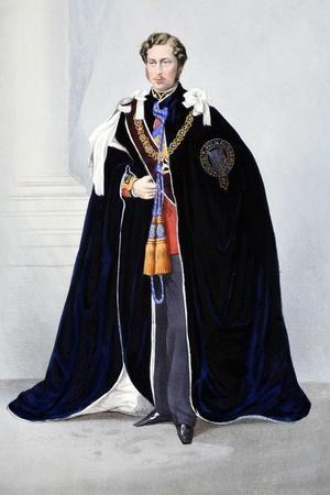 His Royal Highness--Stretched Canvas Print