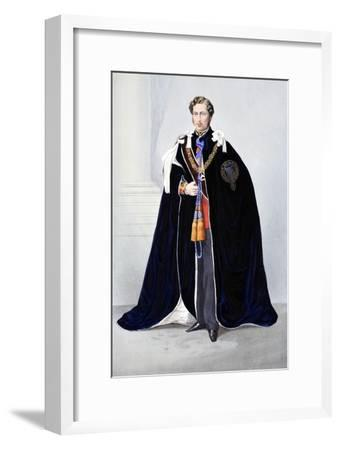 His Royal Highness--Framed Giclee Print