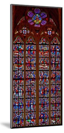 Window W209 Depicting Scenes from Life of St Nicholas--Mounted Giclee Print
