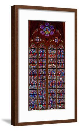 Window W209 Depicting Scenes from Life of St Nicholas--Framed Giclee Print