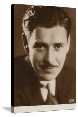 Ronald Colman, English Actor and Film Star--Stretched Canvas Print