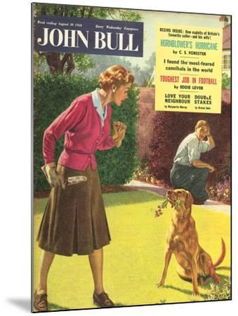 Front Cover of 'John Bull', August 1958--Mounted Giclee Print