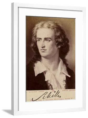 Friedrich Von Schiller--Framed Giclee Print