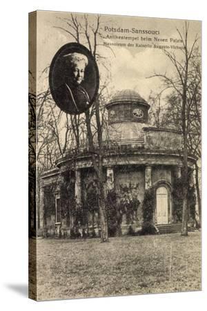 Potsdam, Sanssouci, Mausoleum, Ksrn Auguste Viktoria--Stretched Canvas Print