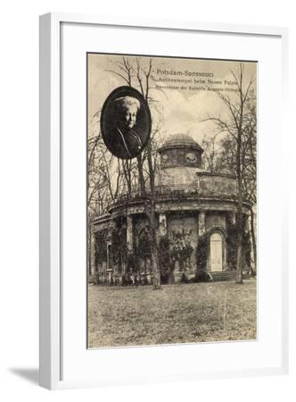 Potsdam, Sanssouci, Mausoleum, Ksrn Auguste Viktoria--Framed Giclee Print