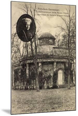 Potsdam, Sanssouci, Mausoleum, Ksrn Auguste Viktoria--Mounted Giclee Print