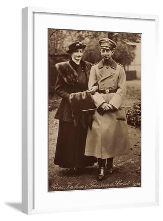 Prinz Joachim Von Preußen Mit Braut, Npg 5374--Framed Giclee Print