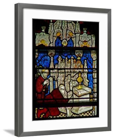 Window W5 Depicting a Scene from the Life of St William--Framed Giclee Print