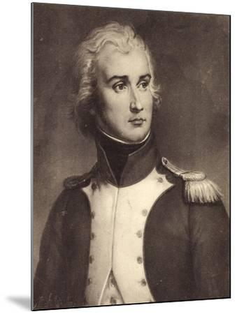 Künstler Sous Lieutenant Jean Lannes, Général--Mounted Giclee Print