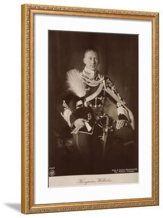 Kronprinz Wilhelm V Preußen, Frack, Npg 4447--Framed Giclee Print