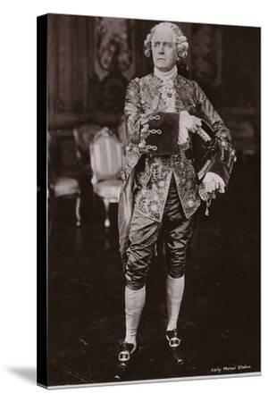 Sir Herbert Beerbohm Tree, English Stage Actor and Theatre Manager--Stretched Canvas Print
