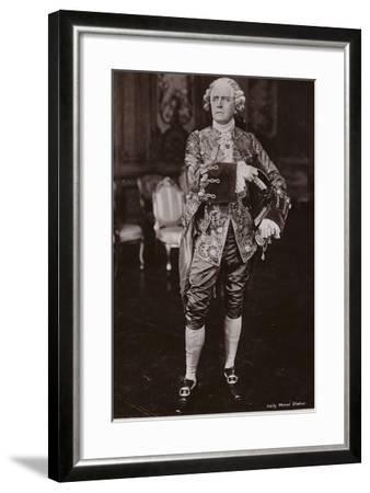 Sir Herbert Beerbohm Tree, English Stage Actor and Theatre Manager--Framed Photographic Print