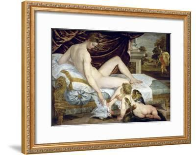 Venus and Love by Lambert Sustris--Framed Giclee Print