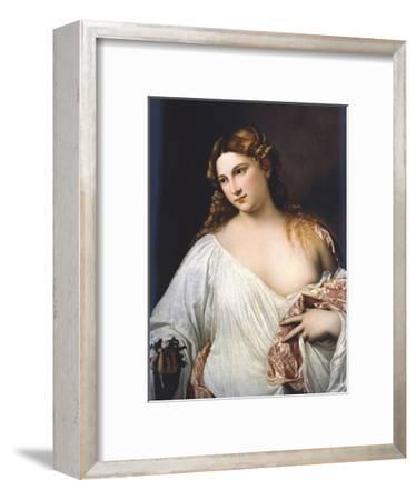 Flora by Titian--Framed Giclee Print