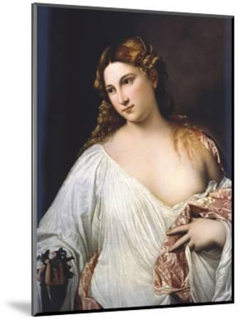 Flora by Titian--Mounted Giclee Print