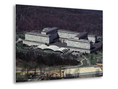 Aerial View of CIA Building--Metal Print