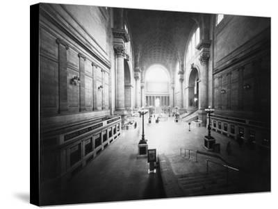 Interior of Pennsylvania Station-Philip Gendreau-Stretched Canvas Print