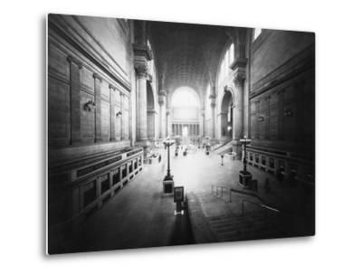 Interior of Pennsylvania Station-Philip Gendreau-Metal Print