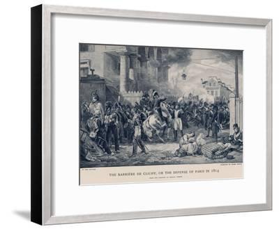 The Barriere De Clichy--Framed Giclee Print