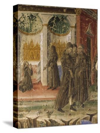 Picture of Monastic Life--Stretched Canvas Print