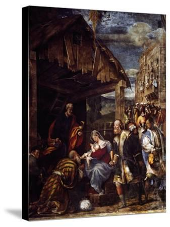 Adoration of the Magi, Ca. 1530--Stretched Canvas Print