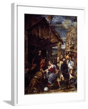 Adoration of the Magi, Ca. 1530--Framed Giclee Print