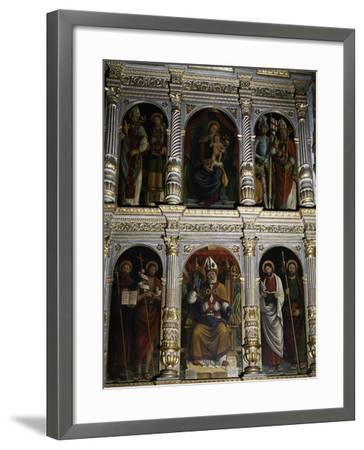 Polyptych of St. Ambrose, 1547--Framed Giclee Print
