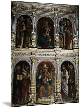 Polyptych of St. Ambrose, 1547--Mounted Giclee Print
