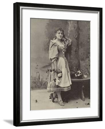 "Miss Dorothy Vane, in ""Haddon Hall""--Framed Photographic Print"
