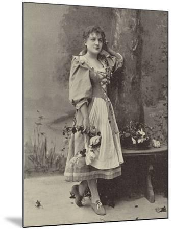 "Miss Dorothy Vane, in ""Haddon Hall""--Mounted Photographic Print"