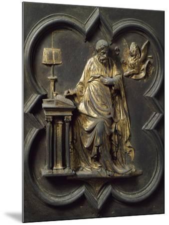 Saint Mark Evangelist, Bronze Panel--Mounted Giclee Print