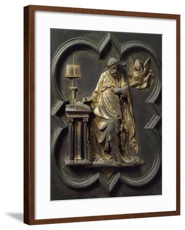 Saint Mark Evangelist, Bronze Panel--Framed Giclee Print