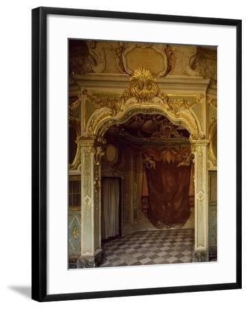 Detail of Decorations in Pope Pius VII Room, Palazzo Borea, Sanremo, Italy--Framed Giclee Print