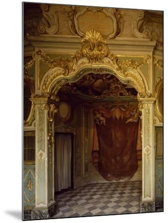 Detail of Decorations in Pope Pius VII Room, Palazzo Borea, Sanremo, Italy--Mounted Giclee Print