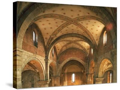 Barrel Vaults, Church of San Lorenzo, Trento, Trentino- Alto Adige, Italy, 12th Century--Stretched Canvas Print