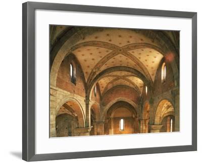 Barrel Vaults, Church of San Lorenzo, Trento, Trentino- Alto Adige, Italy, 12th Century--Framed Giclee Print
