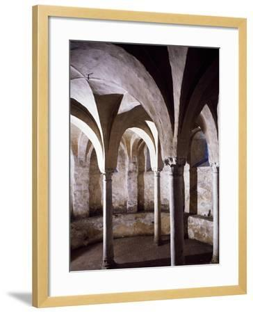 Crypt, St Vincent's Basilica, Galliano, Italy, 10th Century--Framed Giclee Print