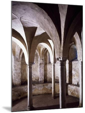 Crypt, St Vincent's Basilica, Galliano, Italy, 10th Century--Mounted Giclee Print
