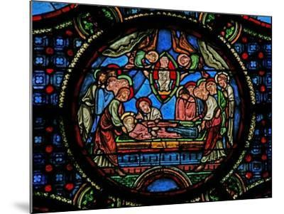 Window W0 Depicting the Death of the Virgin Mary--Mounted Giclee Print