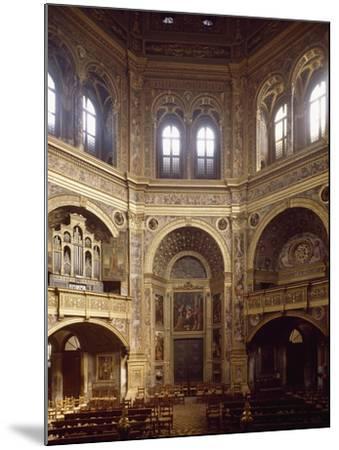 Sanctuary of Incoronata in Lodi--Mounted Giclee Print