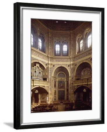 Sanctuary of Incoronata in Lodi--Framed Giclee Print