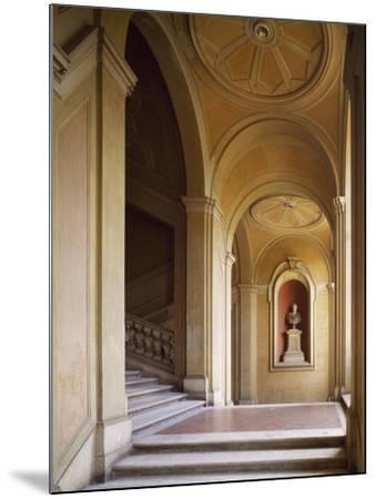 Detail from Staircase, Palazzo Corsini, Lungara, Rome, Italy--Mounted Giclee Print