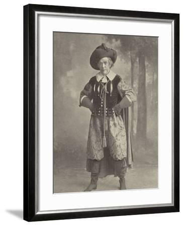 """Mr Lionel Brough: a Reminiscence of """"La Cigale""""--Framed Photographic Print"""