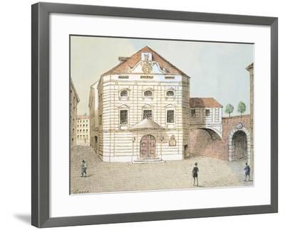 Corinthian Gate Theatre in Vienna, Austria--Framed Giclee Print