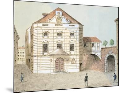 Corinthian Gate Theatre in Vienna, Austria--Mounted Giclee Print