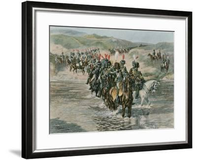 The Passage of the Ford--Framed Giclee Print