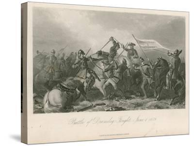 Battle of Drumclog, Fought, June 1, 1679--Stretched Canvas Print