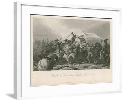 Battle of Drumclog, Fought, June 1, 1679--Framed Giclee Print